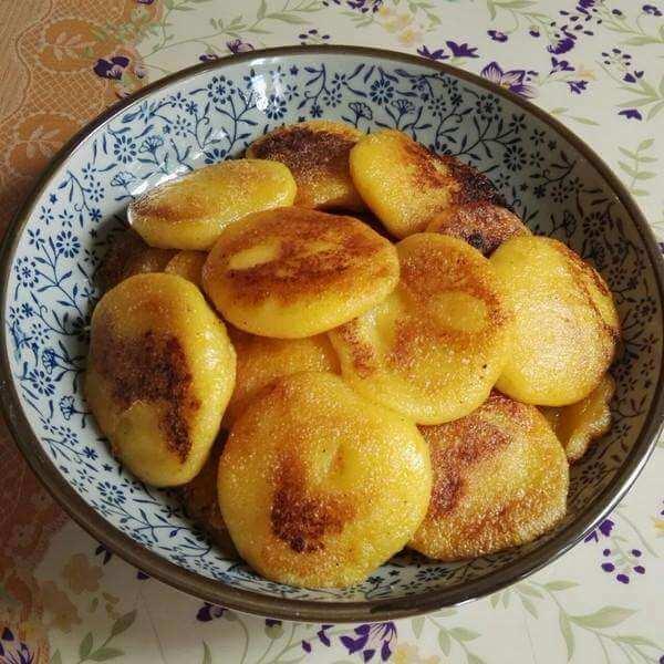 枣香奶油玉米饼