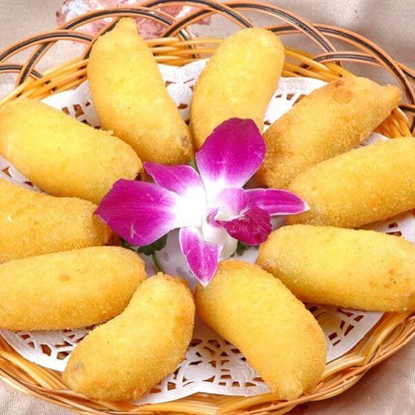 脆皮香蕉卷