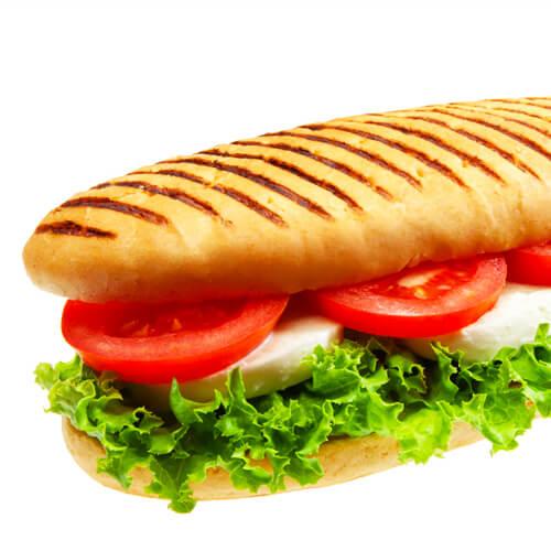 鸡蛋番茄三明治