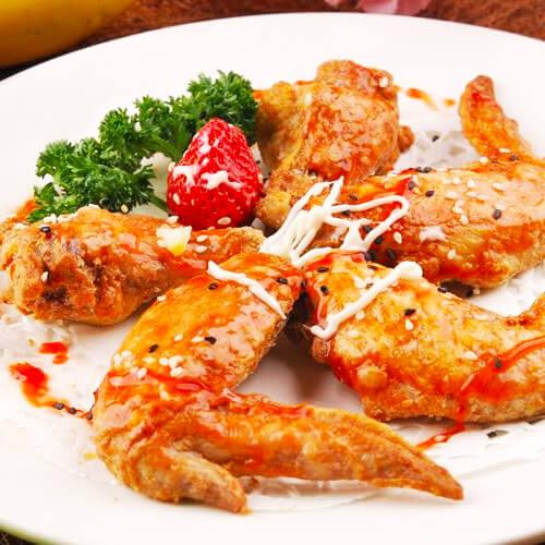 电烤箱烤鸡翅