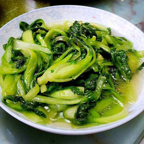 大豆蛋白炒青菜