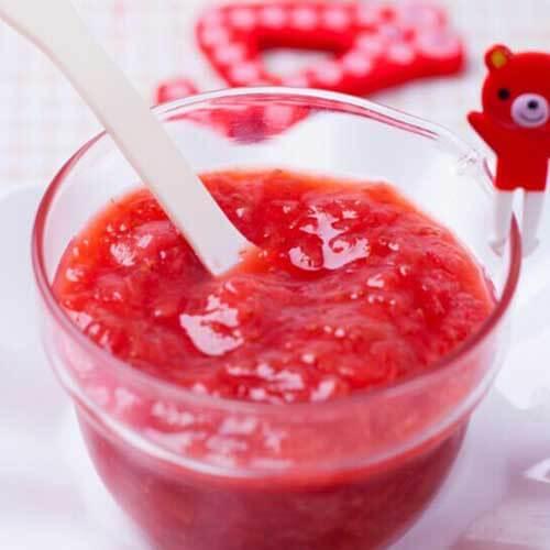 诱人的草莓酱