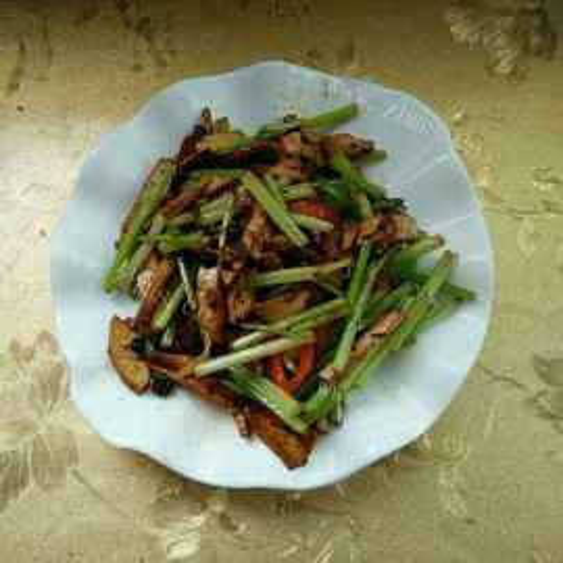 豉椒炒豆干
