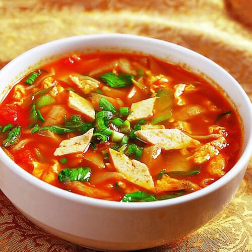 大小虾米粉汤