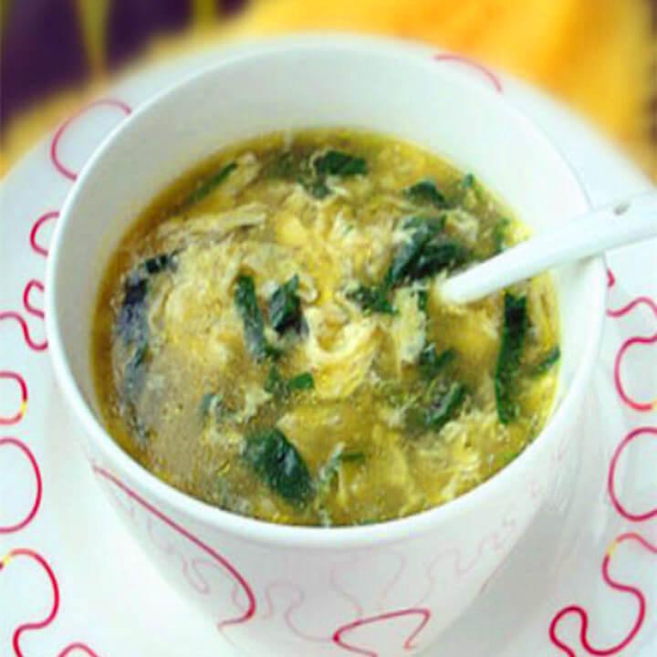薄荷鸡蛋汤的做法