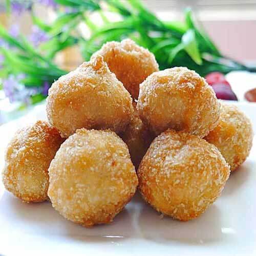 【美味可口】芝士鸡肉丸子