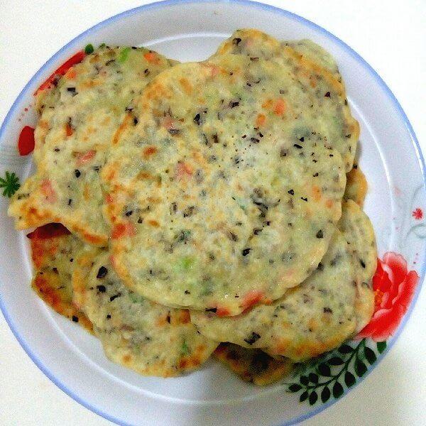 红椒木耳煎饼