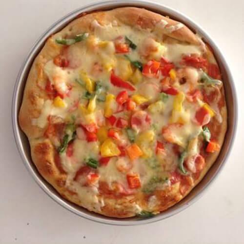 面包机做火腿披萨