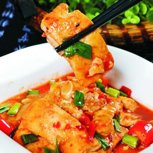 滑子蘑豆腐