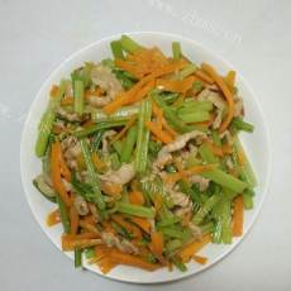 美味芹菜炒肉丝
