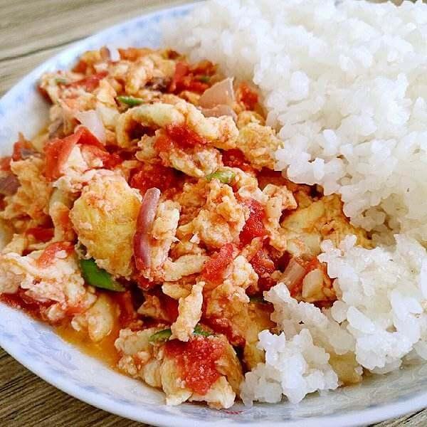 【首发】小番茄炒蛋饭