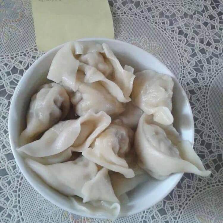 马蹄猪肉饺子