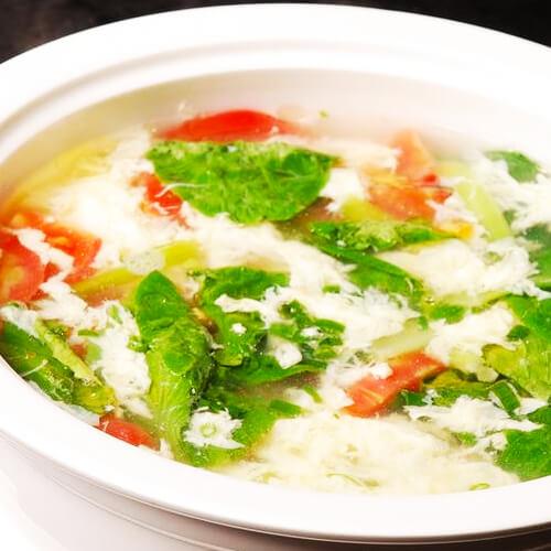 虾皮紫菜蛋花汤的做法