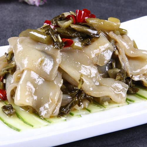 [简单版]酸菜魔芋