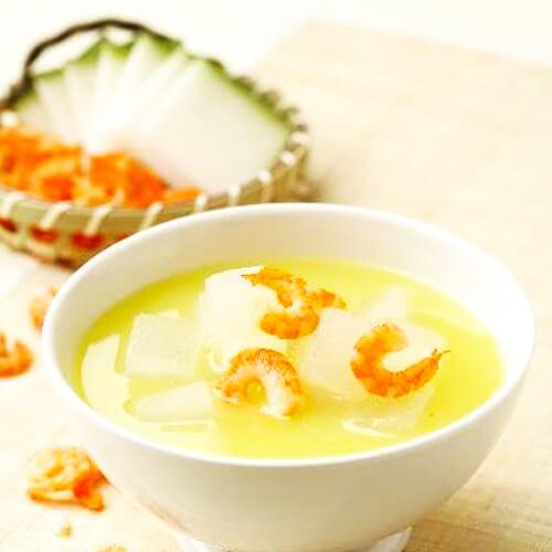 养肺海米冬瓜汤的做法