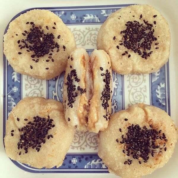 花生芝麻糯米饼