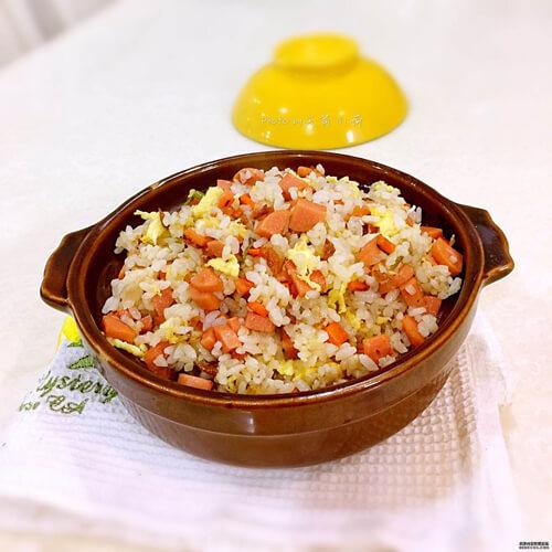 【家庭版】红萝卜咸饭