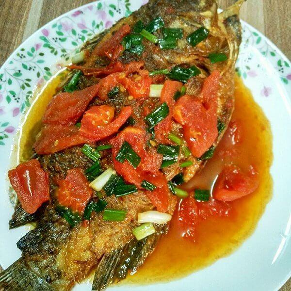 易做的番茄福寿鱼