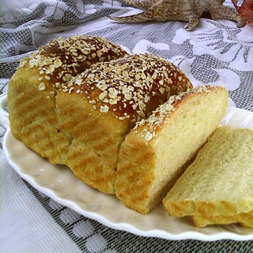 最爱的豆浆麦片汤种土司