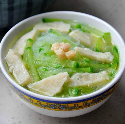 虾皮萝卜粉丝汤