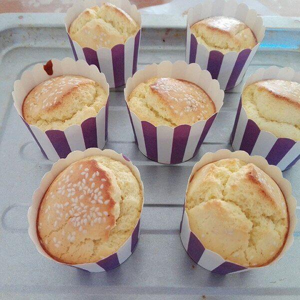 杯子全蛋海绵蛋糕