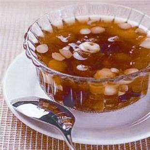 花生薏米薯圆糖水