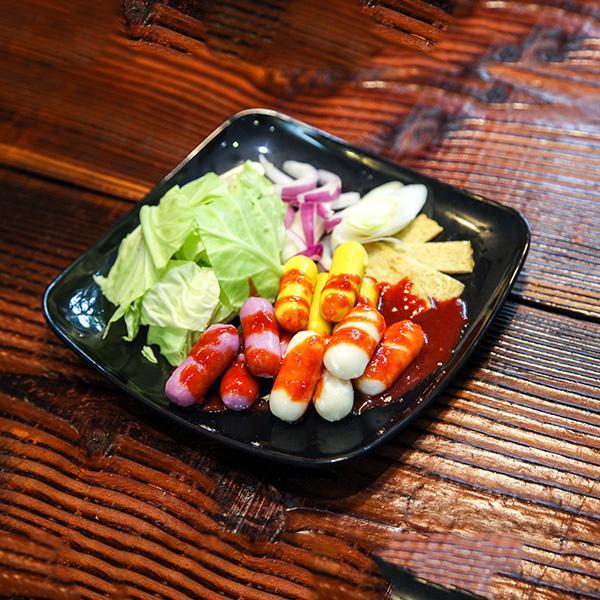 韩式牛肉卷年糕料理(简单版)
