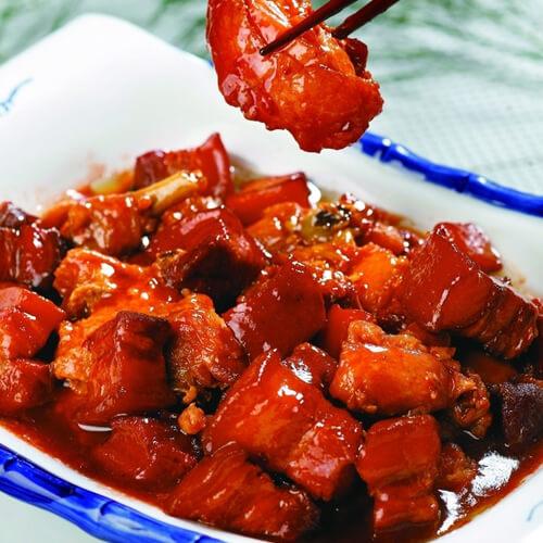 海鲜酱烧五花肉