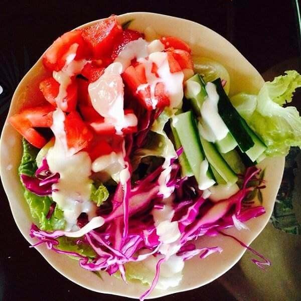 酸奶蔬菜水果沙拉(懒人版)