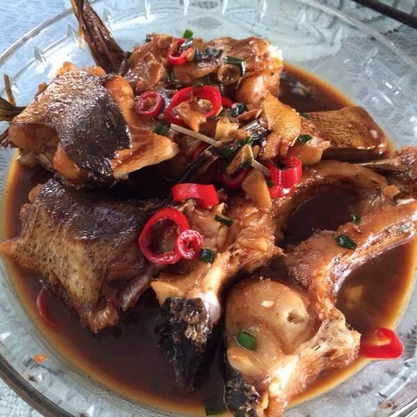 黑豆煲鲩鱼尾