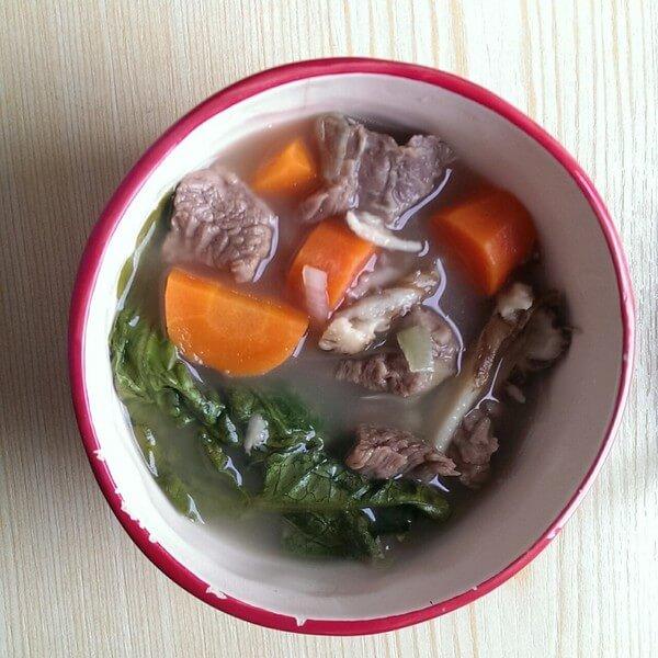 冬瓜牛肉炖汤