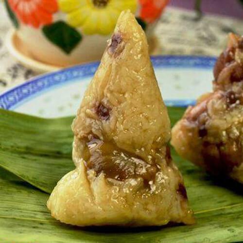 板栗鲜肉粽