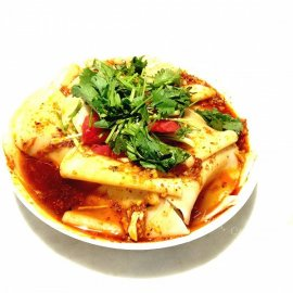 凉拌饺子皮