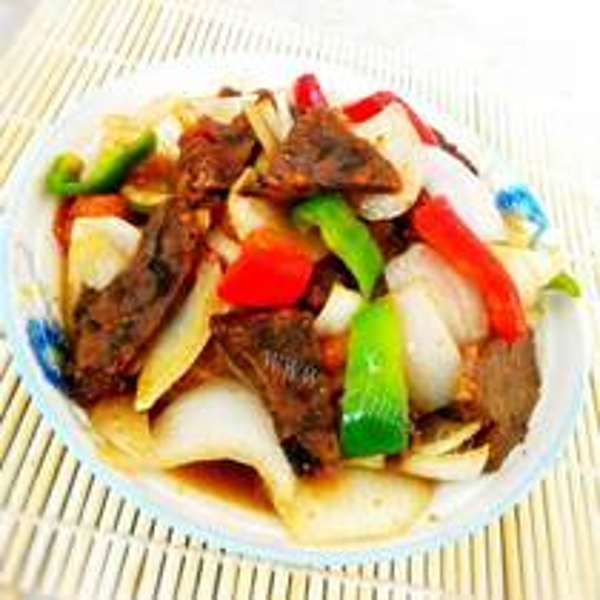 双豆炒牛肉