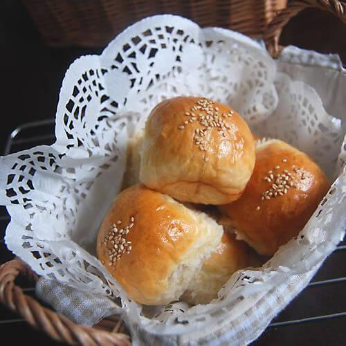 五谷豆渣蜂蜜小餐包