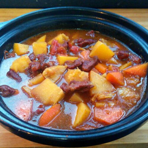 椒香萝卜炖牛肉