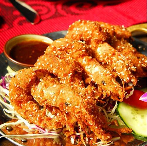 #特色#高升芝麻虾