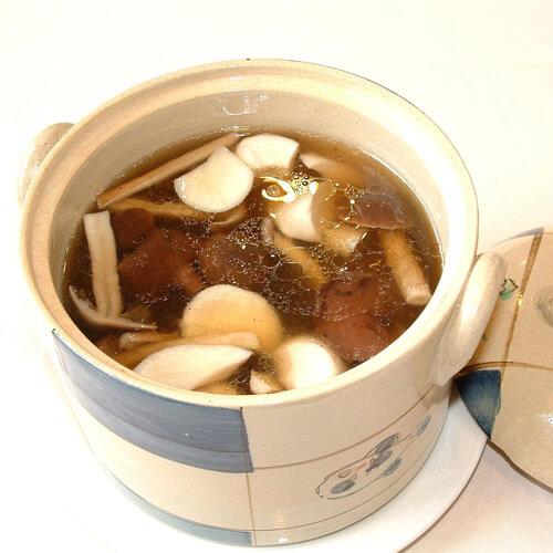 家常版蔬菜绿春汤