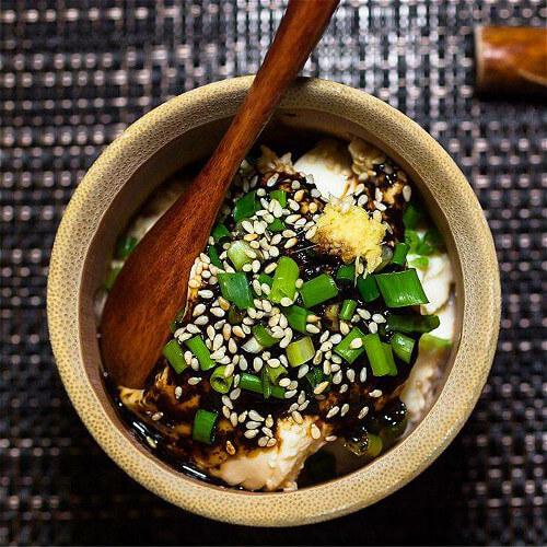 韩式花蛤豆腐脑汤