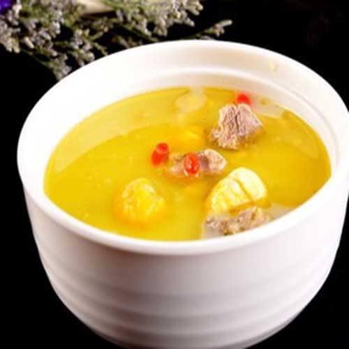 萌麻炖黄油老母鸡