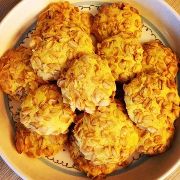 黄油版红糖燕麦能量饼