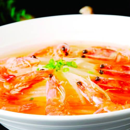 菌菇虾仁汤