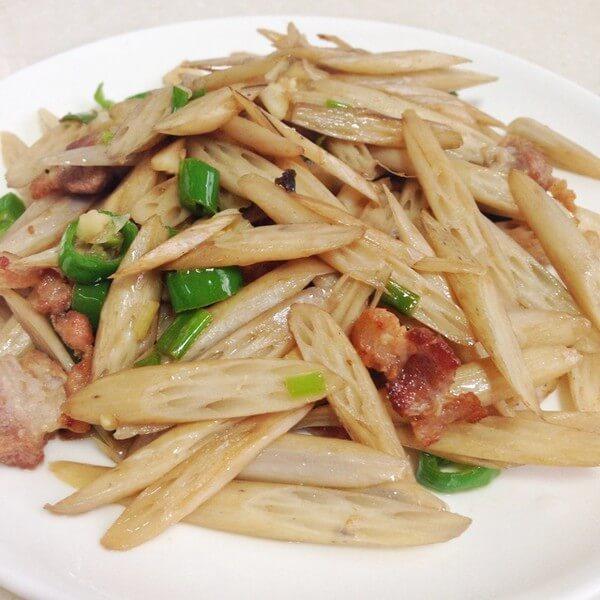 回锅肉炒藕