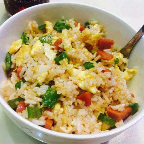 健康美食之马蹄蛋炒饭