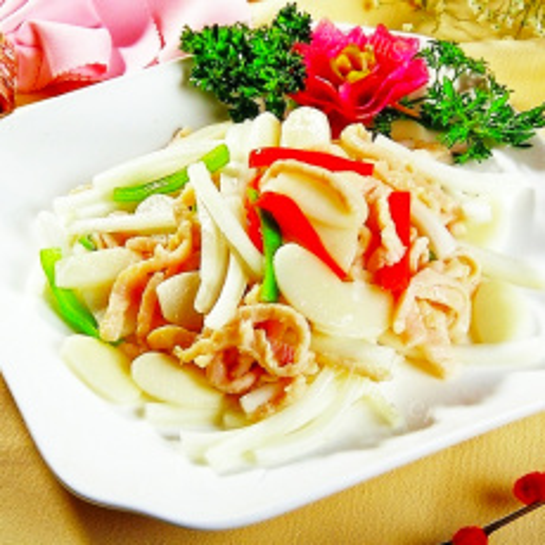 美味的韩国炒年糕的做法