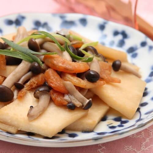 外婆教我做酥辣虾米
