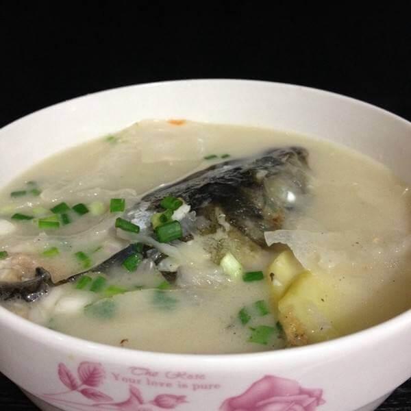 黄芪鱼头汤