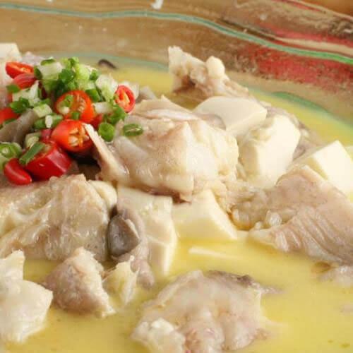豆腐清炖鱼的做法