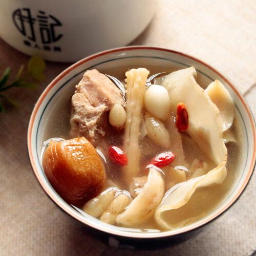 玉竹煲三果