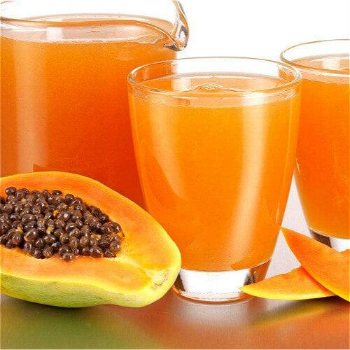 易做的木瓜蜜桔汁